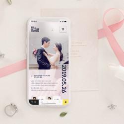 Love in Blossom (러브 인 블라썸) : 모바일 청첩장